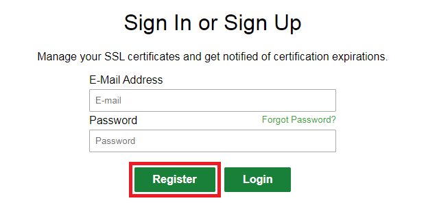 SSL For Free _ Step1 _ 2
